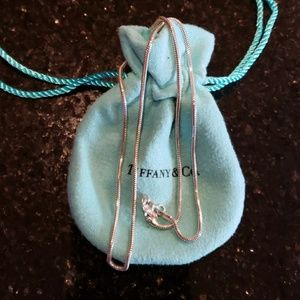 Authentic Tiffany and Co. Sterling Chain